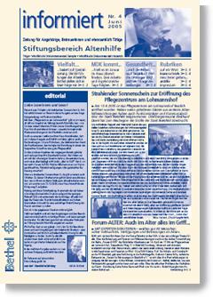 informiert 2005_4 als pdf-Datei