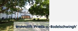 zum Wohnstift 'Frieda-v.-Bodelschwingh'