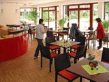 Caféteria und offener Mittagstisch