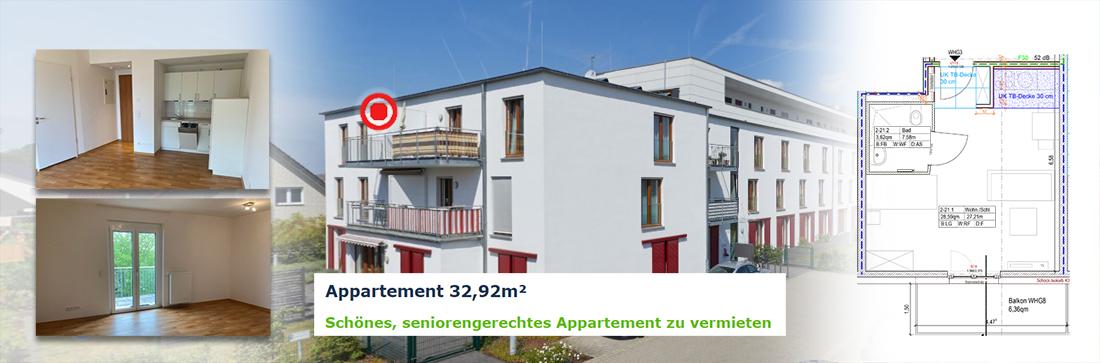 Appartement frei