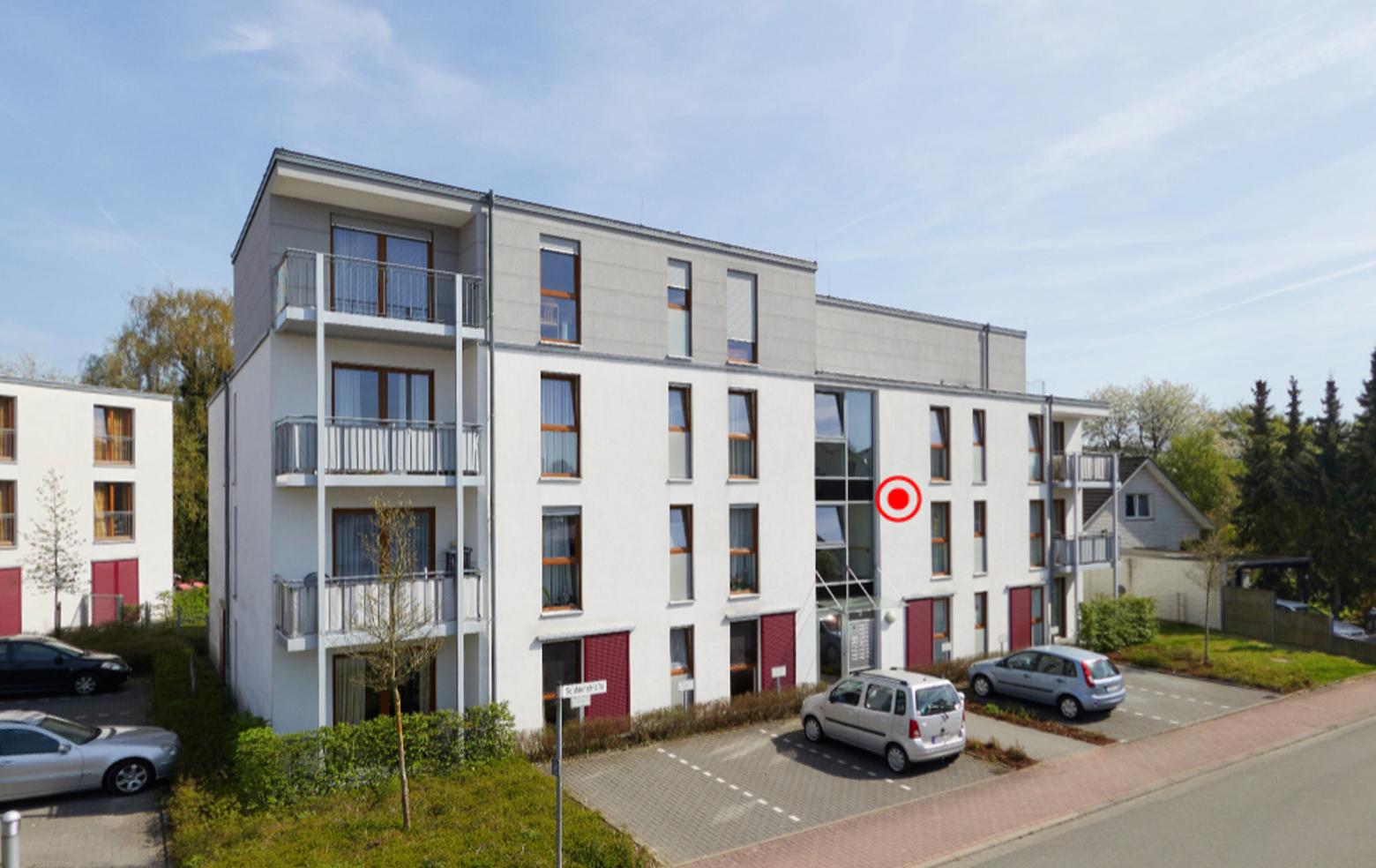 Lage / Außenansicht ✓ Dissen ✓ 54 qm seniorengerechtes Appartement zu vermieten ✓