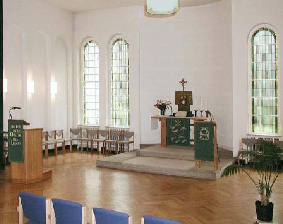 Wohnstift - hauseigene Kapelle