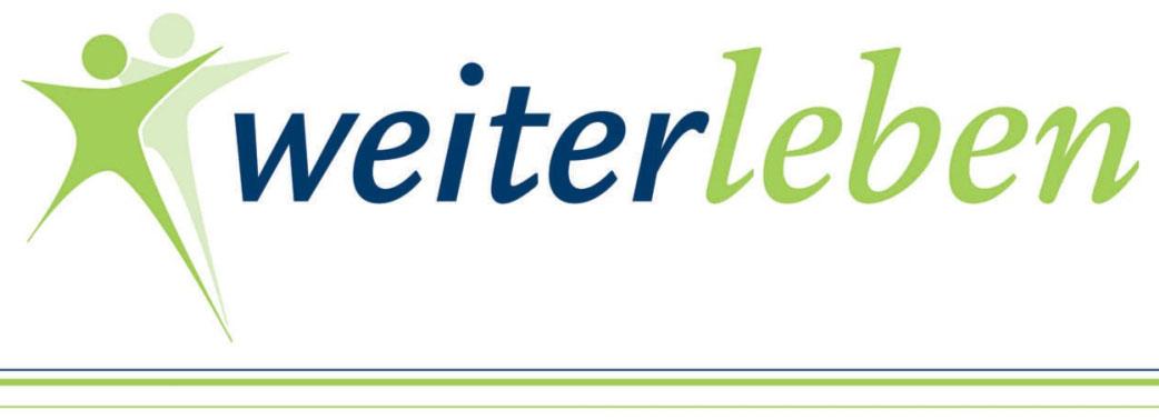 Link zu > www.weiter-leben.de
