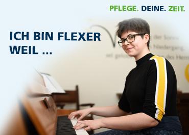 BESTIMME DEINE ARBEITSZEIT  im FlexTeam der Altenhilfe Bethel