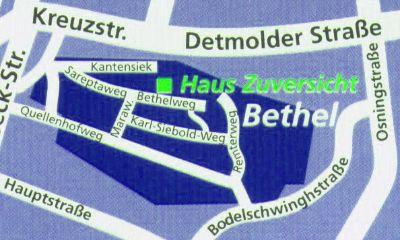 Anfahrt Bethel -> Bethelweg 25